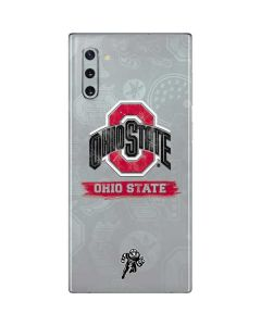 Ohio State Distressed Logo Galaxy Note 10 Skin