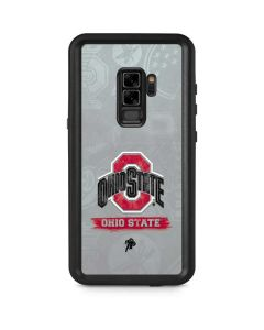 Ohio State Distressed Logo Galaxy S9 Plus Waterproof Case