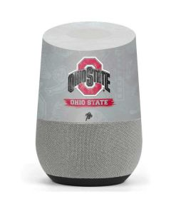 Ohio State Distressed Logo Google Home Skin