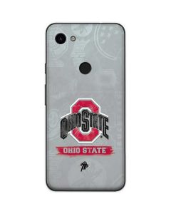 Ohio State Distressed Logo Google Pixel 3a XL Skin