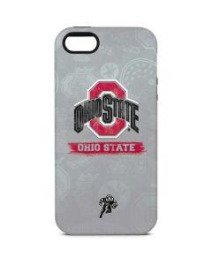 Ohio State Distressed Logo iPhone 5/5s/SE Pro Case