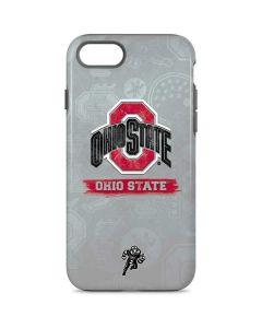 Ohio State Distressed Logo iPhone 8 Pro Case