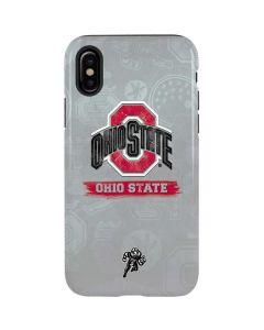 Ohio State Distressed Logo iPhone X Pro Case