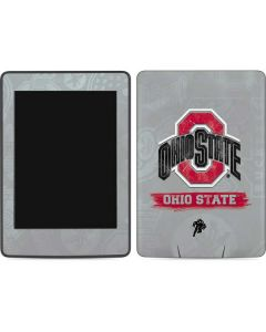 Ohio State Distressed Logo Amazon Kindle Skin