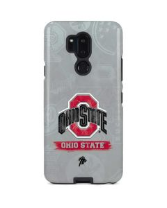 Ohio State Distressed Logo LG G7 ThinQ Pro Case
