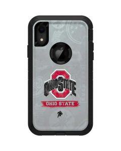 Ohio State Distressed Logo Otterbox Defender iPhone Skin