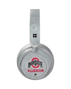 Ohio State Distressed Logo Surface Headphones Skin