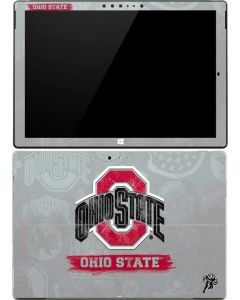 Ohio State Distressed Logo Surface Pro 4 Skin