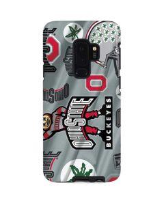 Ohio State Pattern Galaxy S9 Plus Pro Case