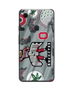 Ohio State Pattern Google Pixel 3 XL Skin