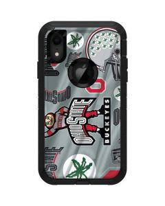 Ohio State Pattern Otterbox Defender iPhone Skin