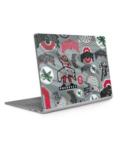 Ohio State Pattern Surface Book 2 13.5in Skin