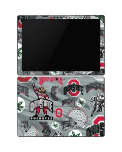 Ohio State Pattern Surface Pro 6 Skin
