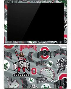 Ohio State Pattern Surface Pro (2017) Skin