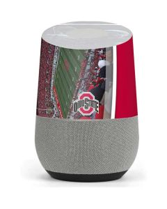 Ohio State Stadium Google Home Skin