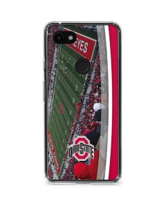 Ohio State Stadium Google Pixel 3a XL Clear Case
