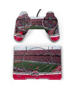 Ohio State Stadium PlayStation Classic Bundle Skin