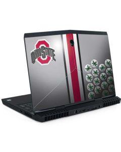 Ohio State University Buckeyes Dell Alienware Skin