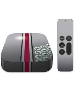 Ohio State University Buckeyes Apple TV Skin
