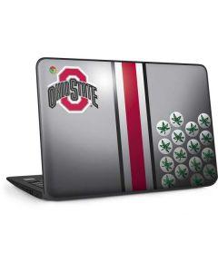Ohio State University Buckeyes HP Chromebook Skin