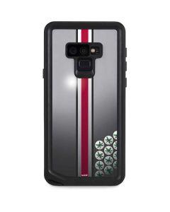 Ohio State University Buckeyes Galaxy Note 9 Waterproof Case