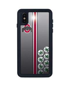 Ohio State University Buckeyes iPhone XS Max Waterproof Case