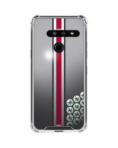 Ohio State University Buckeyes LG G8 ThinQ Clear Case
