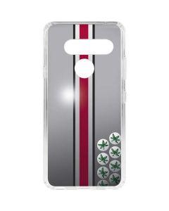 Ohio State University Buckeyes LG V40 ThinQ Clear Case
