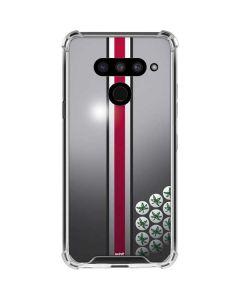 Ohio State University Buckeyes LG V50 ThinQ Clear Case
