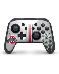Ohio State University Buckeyes Nintendo Switch Pro Controller Skin