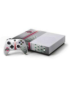 Ohio State University Buckeyes Xbox One S All-Digital Edition Bundle Skin