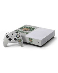 Ohio University Bobcats Xbox One S All-Digital Edition Bundle Skin