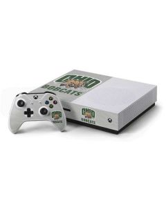 Ohio University Bobcats Xbox One S Console and Controller Bundle Skin