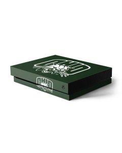 Ohio University Outline Xbox One X Console Skin