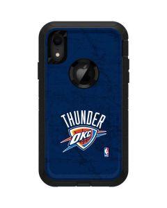 OKC Thunder Distressed Blue Otterbox Defender iPhone Skin