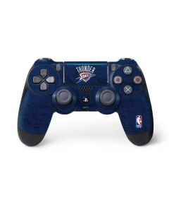 OKC Thunder Distressed Blue PS4 Pro/Slim Controller Skin