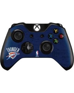 OKC Thunder Distressed Blue Xbox One Controller Skin