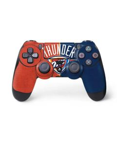 OKC Thunder Split PS4 Controller Skin