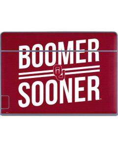 Oklahoma Boomer Sooner Galaxy Book Keyboard Folio 12in Skin