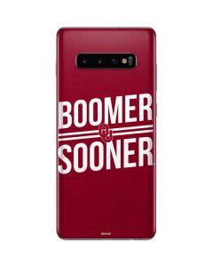 Oklahoma Boomer Sooner Galaxy S10 Plus Skin