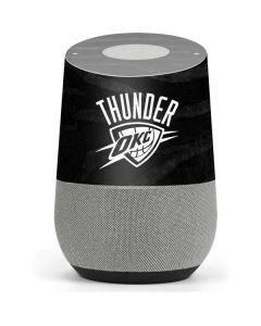 Oklahoma City Thunder Black Animal Print Google Home Skin