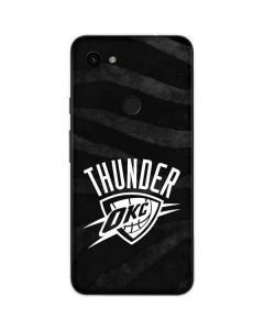 Oklahoma City Thunder Black Animal Print Google Pixel 3a Skin