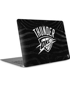 Oklahoma City Thunder Black Animal Print Apple MacBook Air Skin