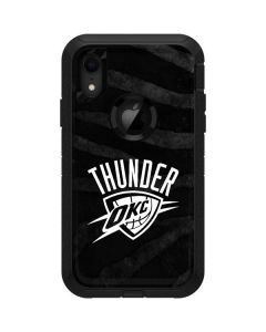 Oklahoma City Thunder Black Animal Print Otterbox Defender iPhone Skin