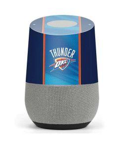 Oklahoma City Thunder Blue Jersey Google Home Skin