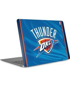 Oklahoma City Thunder Blue Jersey Apple MacBook Air Skin