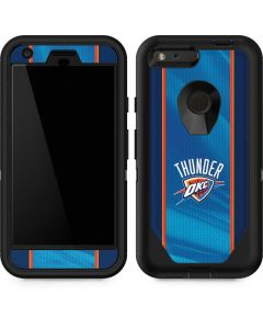 Oklahoma City Thunder Blue Jersey Otterbox Defender Pixel Skin