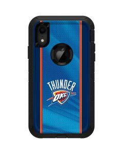 Oklahoma City Thunder Blue Jersey Otterbox Defender iPhone Skin