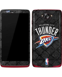 Oklahoma City Thunder Dark Rust Motorola Droid Skin