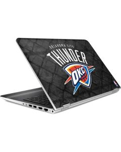 Oklahoma City Thunder Dark Rust HP Pavilion Skin